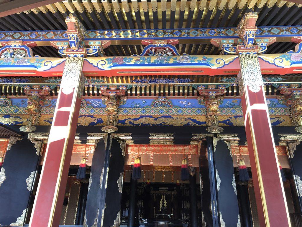 久能山東照宮 拝殿