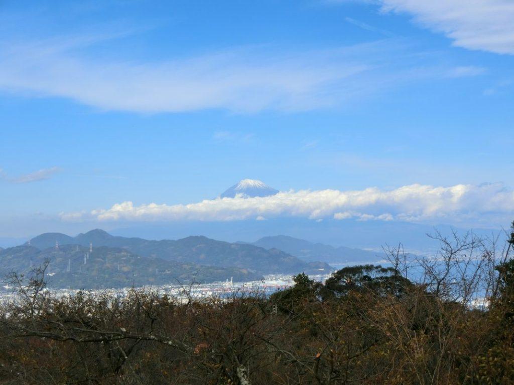 回廊からの富士山