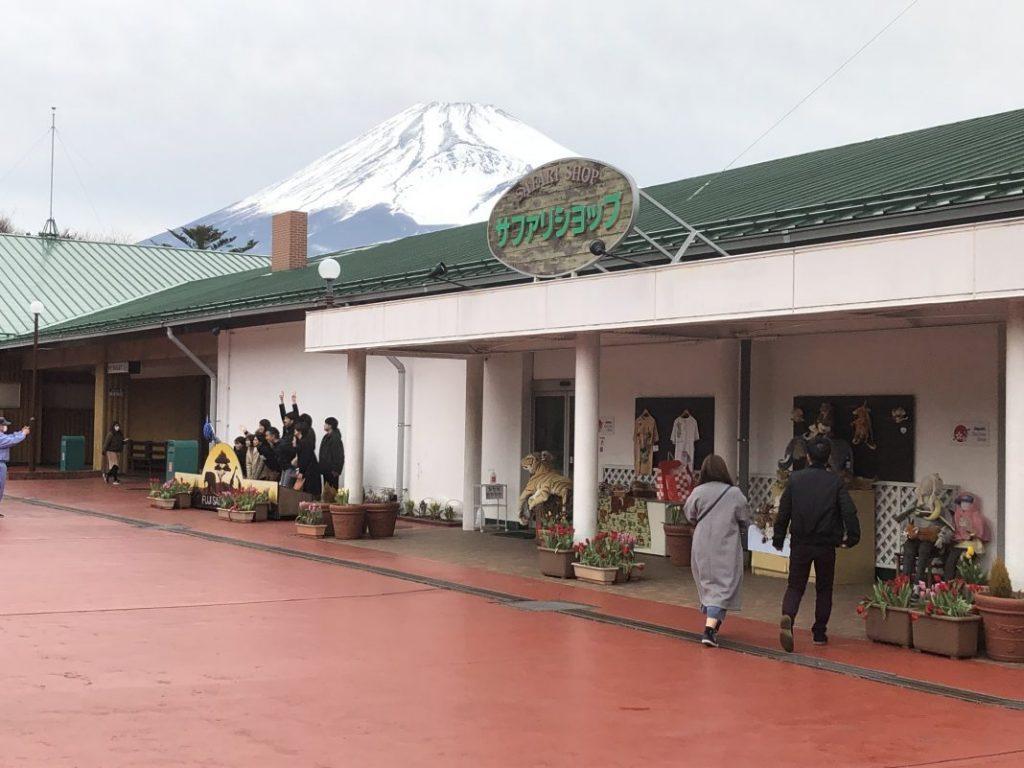 富士サファリパーク「サファリショップ」入口