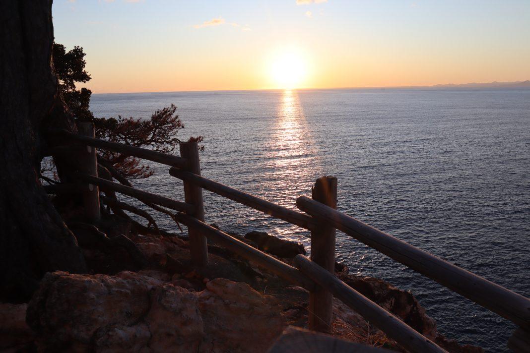 黄金崎夕陽