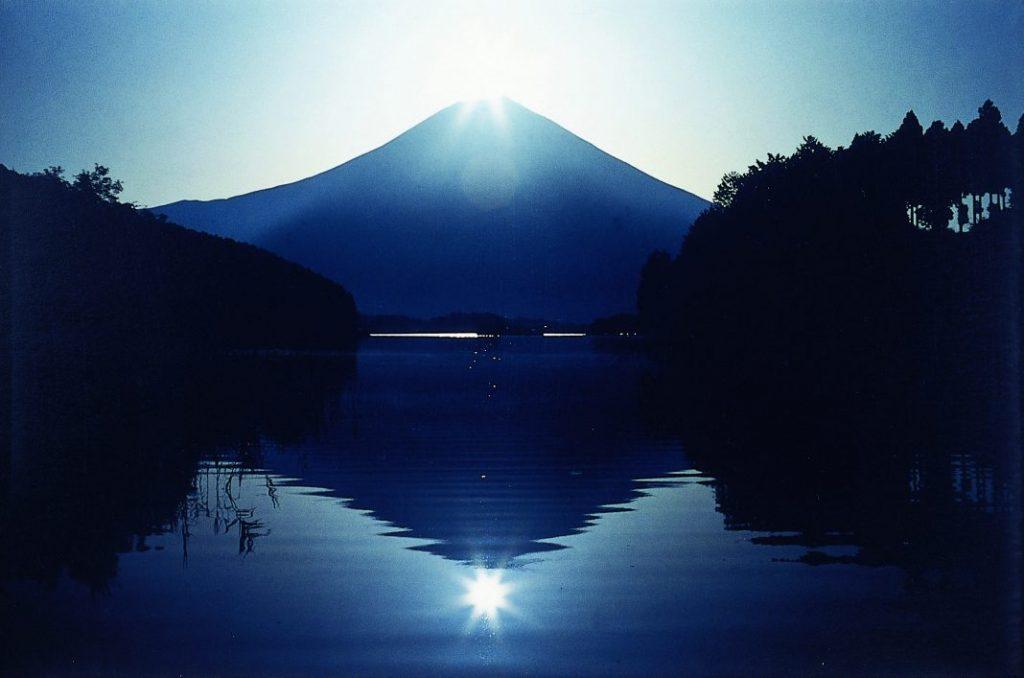 田貫湖からの富士