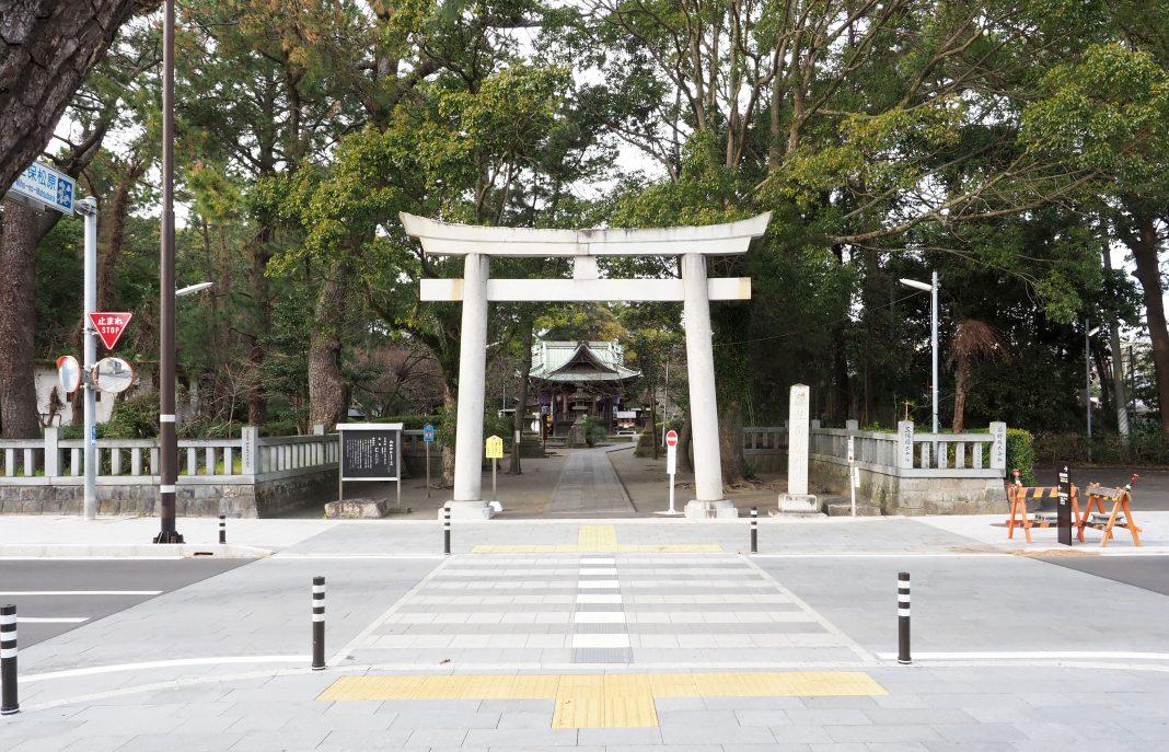 三保の松原_御穂神社の鳥居