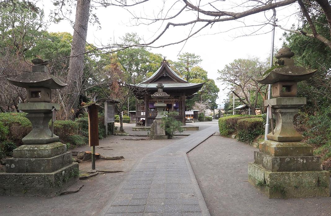 三保の松原_御穂神社の正面