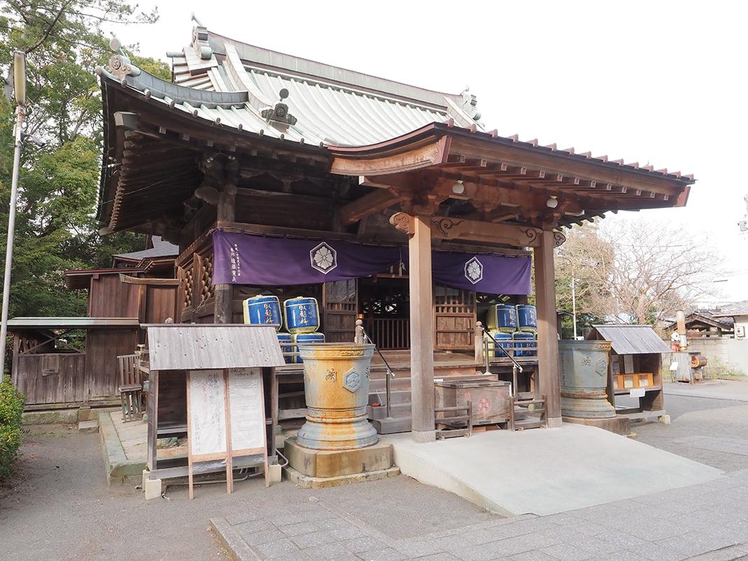 三保の松原_御穂神社の本殿