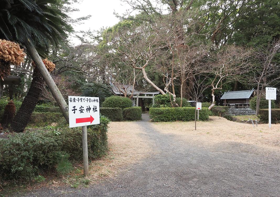 三保の松原_御穂神社の子安神社