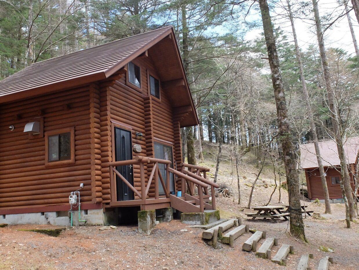 県民の森ログハウス