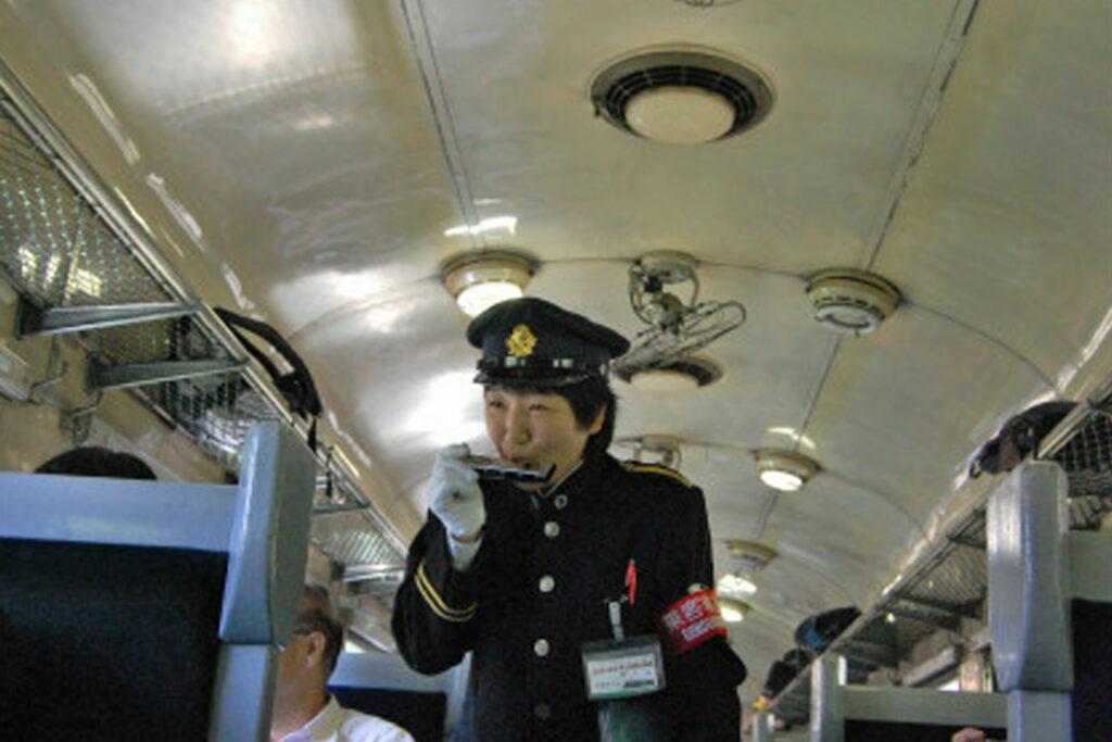 大井川鐵道SL専務車掌